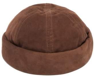 Lock & Co Hatters Dover Suede Watch Cap - Mens - Brown