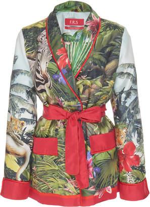 0f2817474de For Restless Sleepers Armonia Silk Wrap Jacket