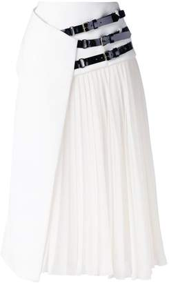 Lanvin belted wrap skirt