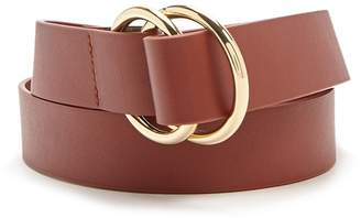 Forever 21 Faux Leather Hip Belt
