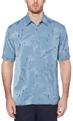 Cubavera Short Sleeve Jacquard Shirt