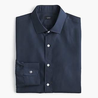J.Crew Ludlow stretch two-ply easy-care cotton dress shirt in solid