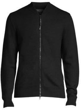 Rag & Bone Wool-Knit Bomber Jacket