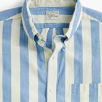 J.Crew Short-sleeve Indian madras shirt in stripe