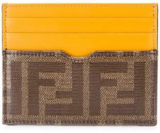 Fendi FF logo slim cardholder