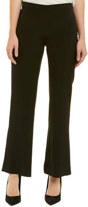 Lafayette 148 New York Petite Side Zip Silk-Blend Pant