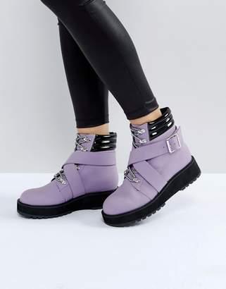 Asos ATHLETE Hiker Boots