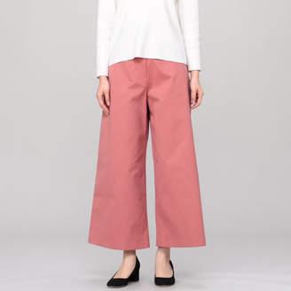 Studio Nicholson Cotton Drill Wide Leg Drop Pocket Pants