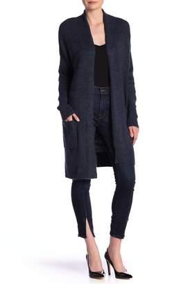 Susina Knee Length Shawl Collar Cardigan (Regular & Petite)