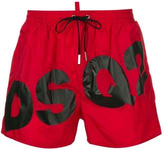 DSQUARED2 DSQ2 logo swim shorts