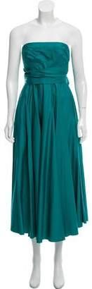 Tibi Strapless Midi Dress w/ Tags