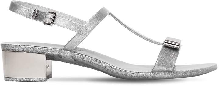 30mm Favilia Glittered Pvc Sandals