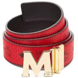 MCM Men's Claus Reversible Belt - Cognac