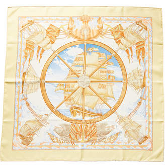 Hermes Vive Le Vent By Laurence Thioune Silk Scarf