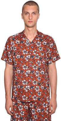 Loewe Flowers Printed Viscose Shirt