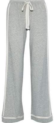 Cosabella Hustle Checked Micro Modal-blend Jersey Pajama Pants