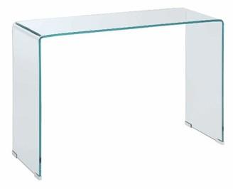 clear Coaster Company Retro Modern Sofa Table,