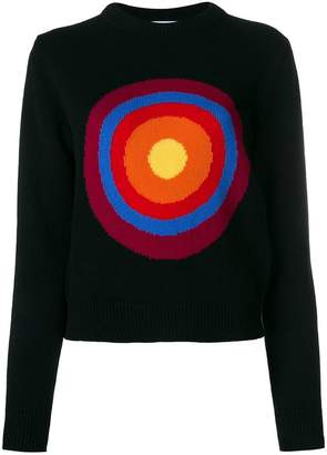 Circled Be Different Butterfly jumper