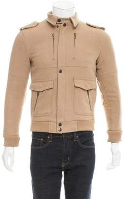 Surface to Air Wool Zip-front Jacket