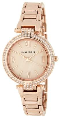 Anne Klein Women's Swarovski Crystal Bracelet Watch, 32mm