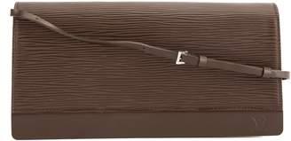 Louis Vuitton Mocha Epi Leather Honfleur Bag (Pre Owned)