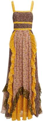 Ulla Johnson Brie Printed Maxi Dress