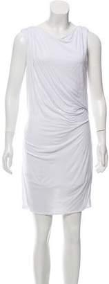 Helmut Lang Sleeveless Gathered Dress