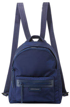 Longchamp Le Pliage Small Nylon Backpack - BLUE1 - STYLE