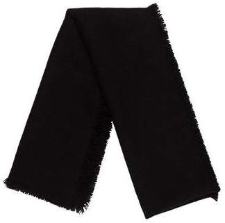 Denis Colomb Fringed Knit Scarf