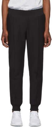 Champion Reverse Weave Black Rib Cuff Lounge Pants