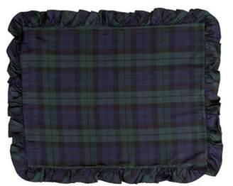 Ralph Lauren Silk Plaid Pillow Sham