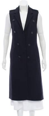 Rag & Bone Virgin Wool Double-Breasted Vest