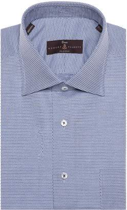 Robert Talbott Tailored Fit Geometric Dress Shirt