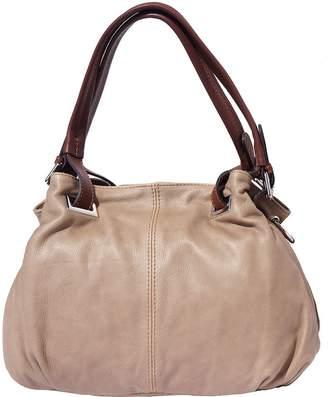 Florence Leather Market SOFT CALF-SKIN LEATHER SHOULDER BAG 8655