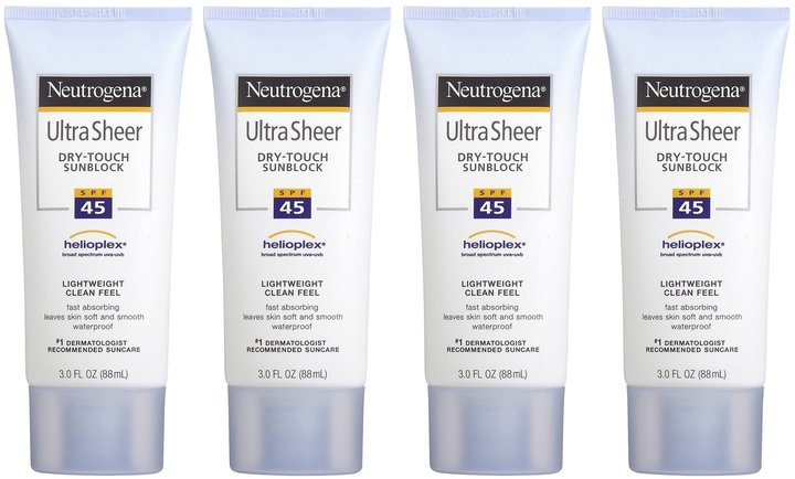 Neutrogena Ultra Sheer Dry-touch Sunblock SPF 45 Twin Pack, 2ct, 2pk