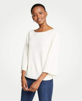 Ann Taylor Petite Wide Sleeve Sweater