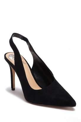 Vince Camuto Ampereta Suede Pointed Toe Slingback Sandal