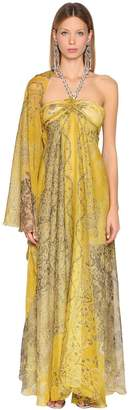 Etro Printed Silk Georgette Dress