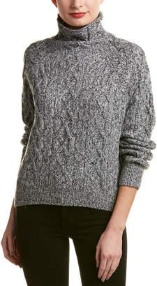 Vince Turtleneck Wool & Cashmere-Blend Sweater