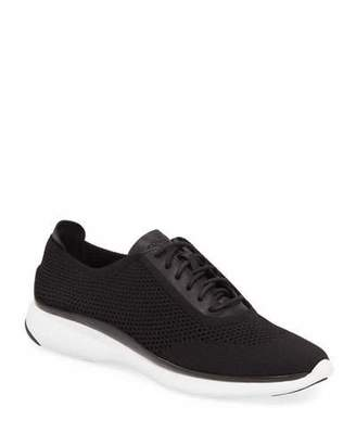 Cole Haan ZEROGRAND Knit & Leather Oxford Sneaker