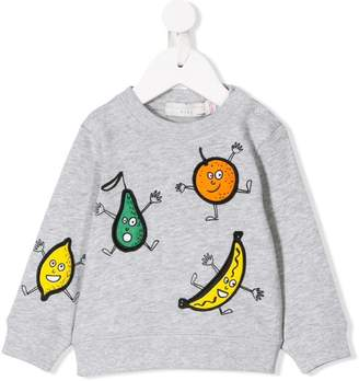 Stella McCartney fruit print sweatshirt