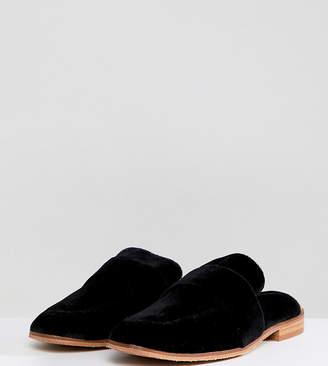 Free People At Ease Velvet Backless Loafer