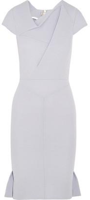 Roland Mouret - Farrant Crepe Dress - Gray $2,390 thestylecure.com