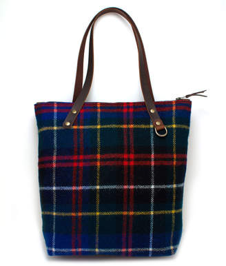 General Knot & Co Scotch Tartan Tote with Japanese Denim Lining