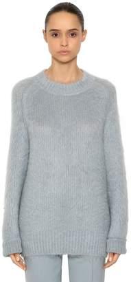 Jil Sander Oversized Mohair & Silk Knit Sweater