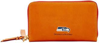 Dooney & Bourke Seattle Seahawks Florentine Zip Around Wallet