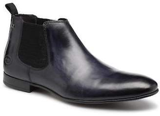 Base London Men's CROFT Ankle Boots in Blue