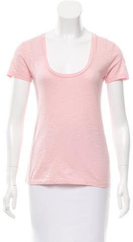 MonclerMoncler Short Sleeve Scoop Neck T-Shirt