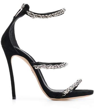DSQUARED2 chain strappy sandals