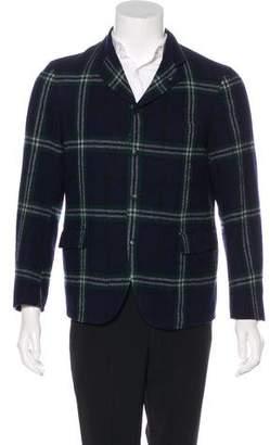 08sircus 08 Sircus Plaid Wool Jacket